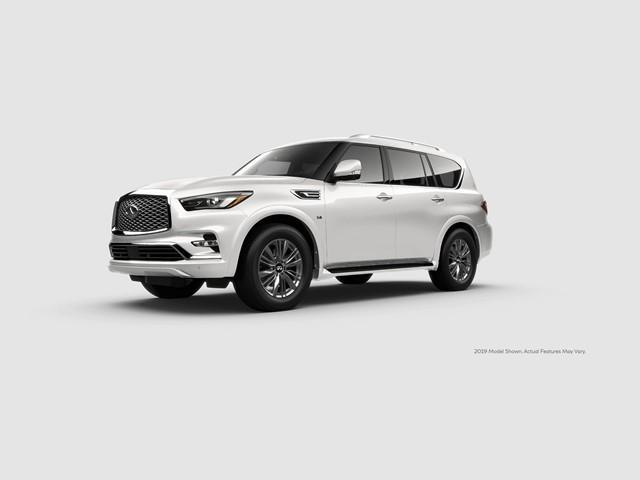 New 2020 INFINITI QX80 LUXE 4WD
