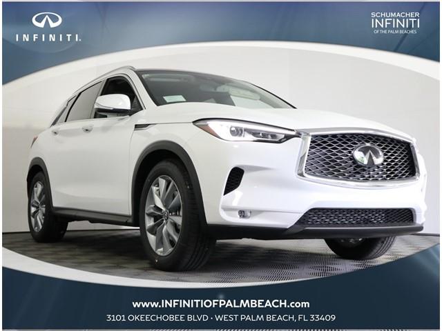 New 2021 INFINITI QX50 LUXE